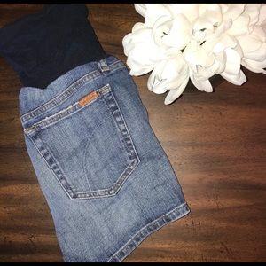 Joes maternity jean shorts